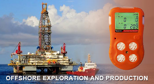 gas detection in offshore exploration and production