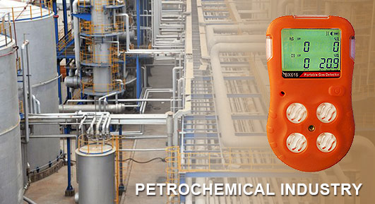 gas detection in the petrochemical industry